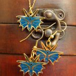 Dragon Necklace & Earring Set