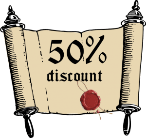 50%-discount